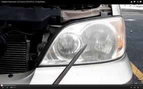 headlight replacement kia sedona 02 03 04 05 lo high beams