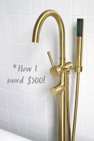 Unlacquered Brass Bathroom Faucet by The How What Why On Metal Plating U2013 A Beautiful Mess