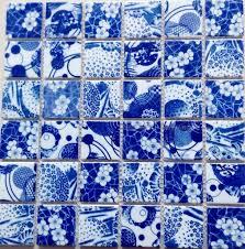 porcelain pebble mosaic tile kitchen backsplash tile bathroom