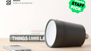La Tee Da Lamps Ebay by Beam The Smart Projector That Fits In Any Light Socket By Beam