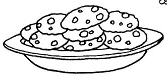 Get Free Clipart Plate Cookies With A Spark Imagegator