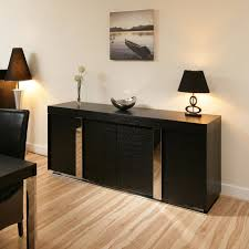 Small Black Buffet Sideboard — New Decoration Romantic Dining