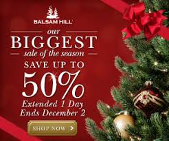 Balsam Hill Premium Artificial Christmas Trees by Most Realistic Artificial Christmas Trees Up To 50 Off From
