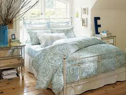 Magnificent Makeover Ideas In Bedroom Decorating Design Classy With Light Blue Pattern Sheets