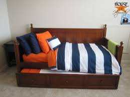 The boy is seeing stripes PB knock off boy bedding}