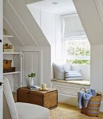 Beach House Decorating Ideas Country Living Attic Rooms Dormer Windows Reading
