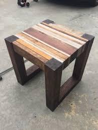 DIY Scrap Wood Side Table Plans