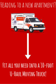 Perfect For Studio And Apartment Moves, The 10-foot U-Haul Moving ...