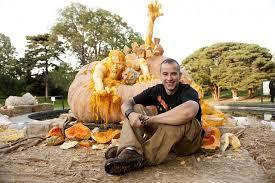 Naughty Pumpkin Carvings by Art Pinewood Design