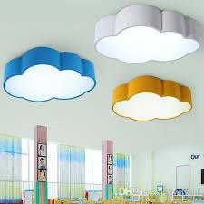 2018 Led Cloud Kids Room Lighting Children Ceiling Lamp Baby