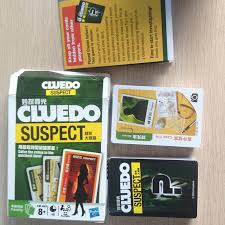 2017 Cluedo Suspect Board Game Mental Logical Reasoning Card English Chinese Instructions Easy To Play In Games From Sports Entertainment On