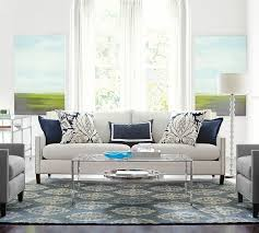 Pottery Barn Charleston Couch Slipcovers by Furniture Amazing Say Hello To Pottery Barns Performance Fabric