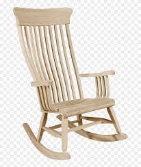 Old South Rocking Chair - Furniture Clipart (#4608341) - PikPng