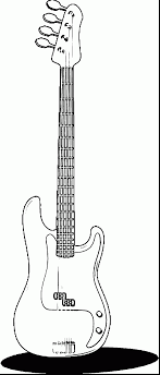 Wonderful Guitar Coloring Page Wecoloringpage With And Pages Printable