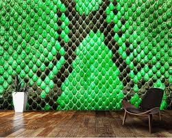 papel de parede grün python haut textur 3d tapete wohnzimmer tv wand schlafzimmer küche wand papers home decor bar wandbild