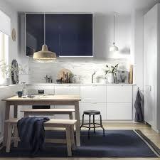 kitchenette elegante e sofisticada küche einrichten ikea