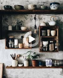 47 coole küche dekor offene regale ideen cool decor