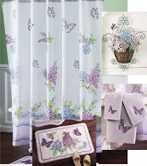 Kmart Blue Bath Rugs by Bathroom Sets With Shower Curtain And Rugs With Purple Color Ideas
