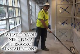 View Larger Image What Do You Need For A Terrazzo Installation