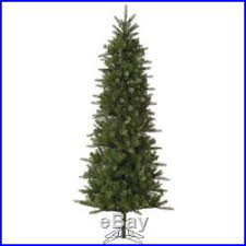 Vickerman Carolina Pencil Spruce Slim Christmas Tree Unlit 12 Ft