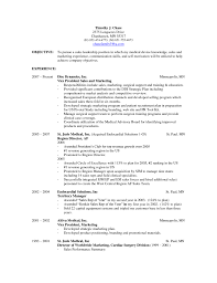 Ucf Telecom Help Desk by Sales Resume Examples Objective Sales Resume By Lauren Example