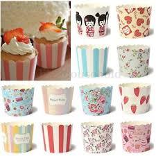 Das Bild Wird Geladen Muffinfoermchen Backfoermchen Muffinform Cupcake Papierfoermchen Muffin Baking Cups