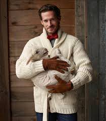 best men u0027s wool fisherman shawl collar cardigan sweater made in