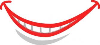 Smile Mouth Teeth Clip Art Vector Free Vectors Vector Me 5Bjily Clipart