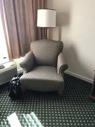 torn upholstery on easy chair picture of crowne plaza hickory i