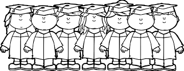 Graduation Coloring Pages Free Download Printa 3331 Colouring