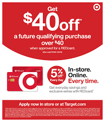 Target: Apply For A New REDcard (Debit Or Credit), Get One ... Public Opinion 2014 Four Coupon Inserts Ship Saves Best Cyber Monday Deals At Amazon Walmart Target Buy Code 2013 How To Use Promo Codes And Coupons For Targetcom Get Discount June Beauty Box Vida Dulce Targeted 10 Off 50 From Plus Use The Krazy Lady Target Nintendo Switch Console 225 With Toy Ecommerce Promotion Strategies To Discounts And 30 Off For January 20 Sale Store Coupons This Week Ends 33118 Store Printable Coupons Coupon Code New Printable
