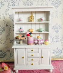 white 1 12 miniaturen puppenhaus wohnzimmer möbel aus holz