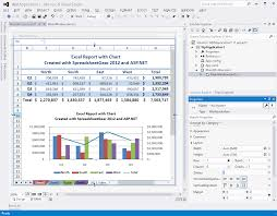 Click For A Large Image Of The SpreadsheetGear WorkbookView Control In Visual Studio 2012 WPF