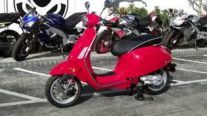 2017 Vespa Sprint 50 Red At Euro Cycles Of Tampa Bay