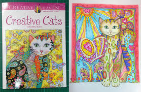 Colouring Book Review Creative Cats Walk Through With Tips And Coloured Pages