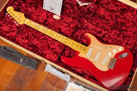 Fender Custom Shop 1957 Journeyman Relic Stratocaster Seminole Red