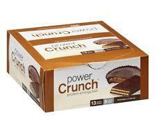 Power Crunch Original HIGH PROTEIN WAFER ENERGY BAR 12 Bars Box