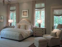 Master Bedroom Idea King Bed Between Two Window But Pulled Forward A Bit Allowing The