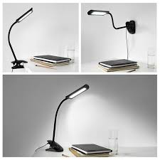 Halogen Floor Lamps Bed Bath And Beyond by Oak Leaf Desk Lamps Flexible Gooseneck Dimmable Led Table Lamp 5w