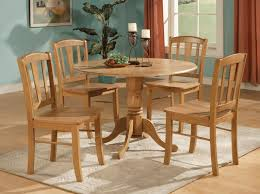 oak kitchen table home design and decorating