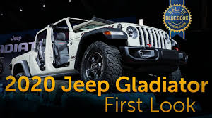 2020 Jeep Gladiator - First Look - YouTube