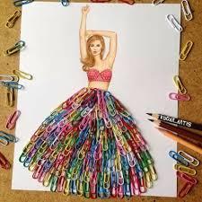 Paper Clip Skirt WOW