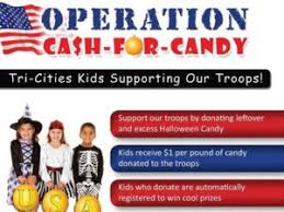 Donate Leftover Halloween Candy by Trade Halloween Candy For Cash And Support Troops 610 Kona