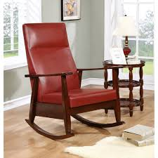 Woodham Solid Wood Red Faux Leather Rocker 806810044766 | EBay Poly Lumber Porch Rocker Patterned Rocking Chair Cushion Set The Company Outdoor Chairs Hayneedle 2 Pc Cushions Carolwrightgiftscom Gci Freestyle Folding Burgundy Gci37072 Eames Rar Style Mid Century Modern Molded Plastic Raulo Recliner 1750325 Recliners Sleep Charcoal Armchair Freedom Denaraw Sold At Bolin Rental Serving Woodham Solid Wood Red Faux Leather 806810044766 Ebay