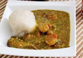 comment cuisiner le gombo gombo pistache accompagnée de couscous de manioc