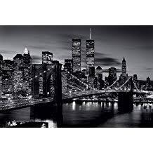 fr poster new york noir et blanc