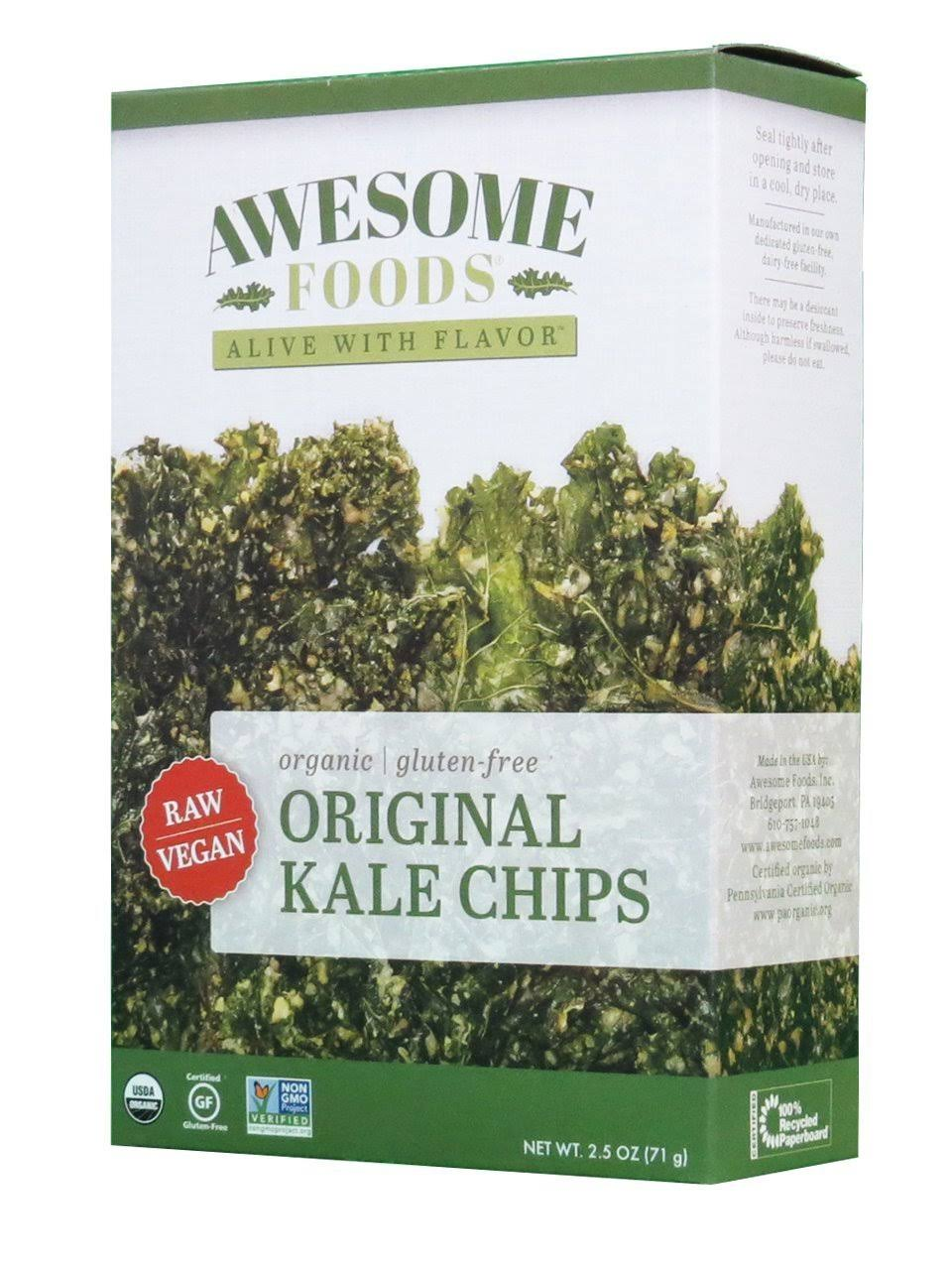 Awesome Foods Organic Gluten-Free Kale Chips - Original