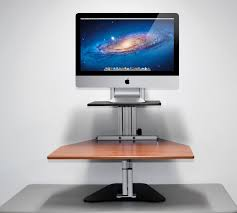Imac Monitor Desk Mount by Kangaroo Desk Stand Best Home Furniture Design