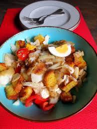 cuisiner morue salada de bacalhau com broa salade de morue de maïs je