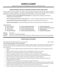Resume Format For Technical Jobs Controller Objective Samples Examples Engineering